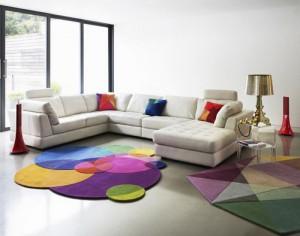 karpet-warna-warni-untuk-interior-ruangan ruang tamu
