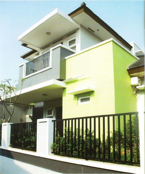 rumah tropis modern yang menawan